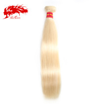 Ali Queen Hair Brazilian Remy Hair Human Weaves Bundles 613# Human Hair Extension Hair Weft