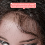 Brazilian Loose Wave 13x4 Lace Front Wig Pre Plucked With Baby Hair 10-24 Inches Human Hair Wigs Remy 150% Density