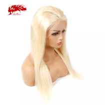 613# Blonde Hair Wig Human Hair Wigs 130 Density 13x6 Remy Straight Hair Wigs Lace Front