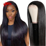 130% 150% Brazilian Straight 13x4 13x6 Lace Front Wig Natural Black Color Wig 10 -24 inches Virgin Remy Hair Wig Best Human Hair Wigs