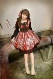 Neverland Lolita -Steampunk Cat- Lolita V-neck Corset JSK -Pre-order