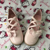 Mint Low Heels Lolita Princess Shoes