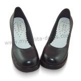 Ladies Summer Lolita Shoes Black