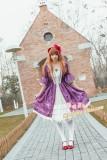 Strawberry Witch Aurora Sleeping Beauty Lolita OP Dress - IN STOCK