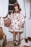 Berries Deer~ Sweet Lolita OP/JSK -Pre-order Closed
