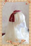 Infanta Cinderella Embroidery Lolita Headbow