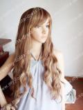 Beautiful Brown Wavvy Long Lolita Hairpiece