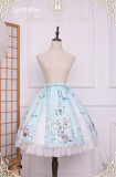 Singing of Deer Series~ Lolita Skirt -Ready Made