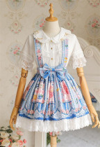 Strawbery Witch ~Blueberry Fruit~ Lolita Skirt