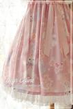 Dear Celine ~Sakura Rabbit~ Slight High Waist Lolita JSK Dailywear Version -Ready Made