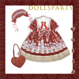 Dolls Party ~ Dolls Printed Lolita OP/JSK 2019 Anniversary Designs -Ready Made