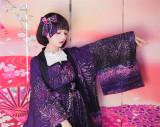 Sakura Firework~ Lolita JSK - Purple Size M - In Stock