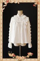 Warm Milk Tea~Lolita Long Sleeves Blouse-Special Price