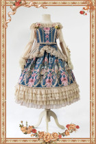 Infanta A Dance In Fairyland~ Lolita JSK Tea Party Deisgn