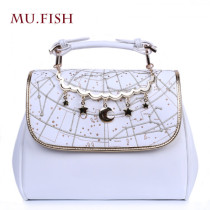Mu-fish Constellation Prints Lolita Handbag/Shoulder Bag