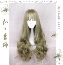 Super Harajuku Style Lolita Long Curls Wig with Bangs - In Stock