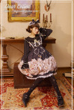 Dear Celine ~Magic Lessons Taught By Cats~ Lolita JSK -Ready Made
