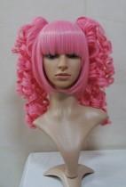 Pink Bobs Wavy Lolita Wig
