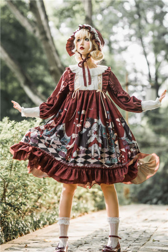 Little Red Riding Hood ~Sweet Lolita OP -Ready Made