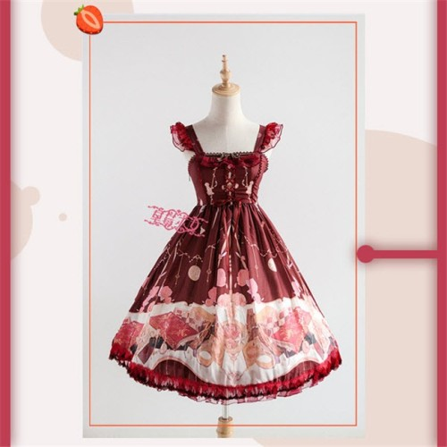 The Clock Adventure~ Sweet Lolita JSK Dress Version II