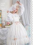 Dawn Maiden~ Vintage Classic Lolita JSK Ready Made
