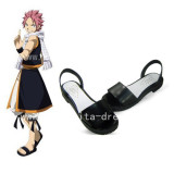 Beautiful Black Fairy Tail Natsu Sandals