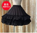 Chiffon Tailored A-line Shaped Lolita Petticoat