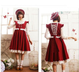Little Red Riding Hood~ Winter Lolita JSK