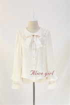 Mola Fan Collar Lace Lolita Blouse -Ready Made
