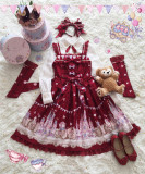 Sugar Carnival- Gold-stamping Pure Cotton Lolita JSK