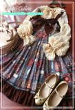 Aisha's Magic Book~ High Waist Lolita JSK -Ready Made