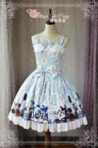 Magic Tea Party~ Battle of the throe JSK Dress Version I-Ready Made