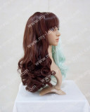 Ponytail Chocolate Mint Middle Divided Lolita Wig