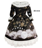 Diamond Honey ~ Moonlight Night Lolita OP -Ready Made