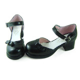 Attractive Tiny Bow Lolita Low Heel Shoes