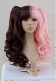 Sweet Wavy Split Chocolate Light Pink Lolita Wig Chocolate&Light Pink - IN STOCK