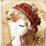 The Garden of Paradise- Sweet Bows Printed Lolita Headband - 3 Colors Available