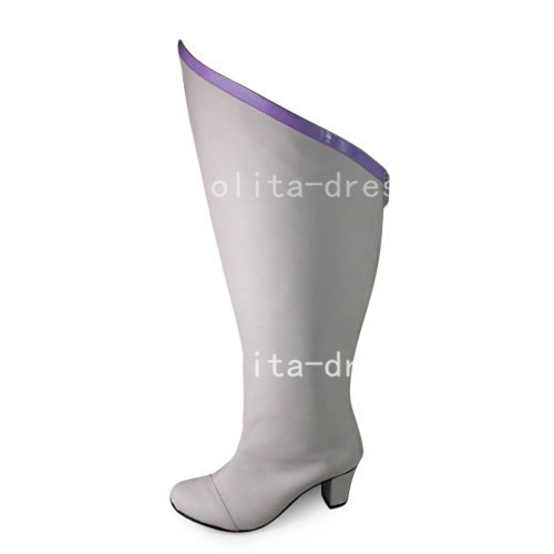 Classic White 6.3cm Heels White Boots