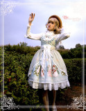 Magic Tea Party ~Ada's Flower Lolita Blouse -Ready Made