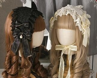 Sweet Dreamer Beige*Off-white Lolita Headband 6 Colors