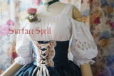 Surface spell ~AlpenRose~ Gothic Ethnic Lolita Puff Sleeves Blouse