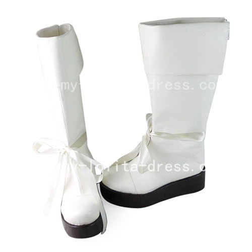 Beautiful White Kamisama Kiss Yukiji Boots