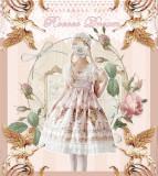 Dear Celine ~Rococo Dream -Lolita Headband/Flower Headdress/Hair Accessory-Ready Made