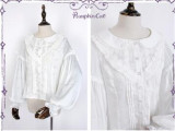 Bacopa Garden~ Lolita Long Sleeves Blouse