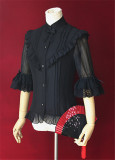 Hyakki Yakō*Sacrifice to Red Leaves~ Gothic Lolita Blouse
