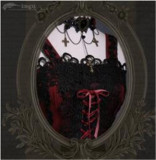 Odile~ Gothic Embroidery Lolita JSK Dress - Pre-order