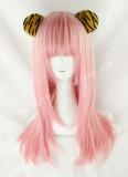 Sweet Pink Straight Lolita Wig