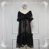 Carol~ Emperor High Waist Lolita JSK Unicolor -Ready Made