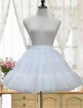 Organza Tailored Lolita A-shaped Lolita Petticoat