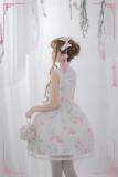 Fish Play Dream- Qi Lolita JSK Dress